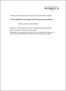 Phd thesis in horticulture