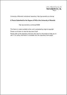Dissertation economic history
