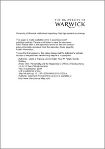 Eysenck+personality+questionnaire+pdf
