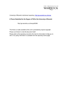 Conflict resolution dissertation