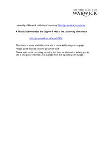Phd thesis on reliability