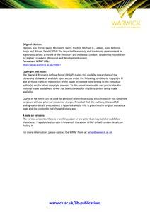 literature review on leadership development