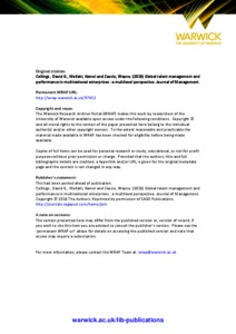 Management A Global Perspective Pdf